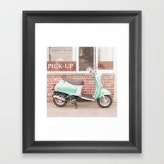 A Sweeter Ride Framed Art Print