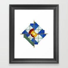 Altered State: CO Framed Art Print