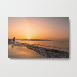 Magical GoldenHour Metal Print