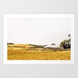 Cool Start To The Day Art Print