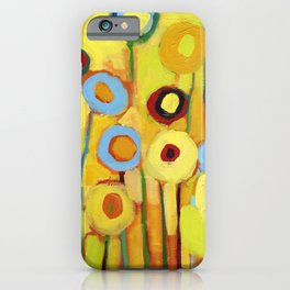 Growing in Yellow No 5 iPhone Case