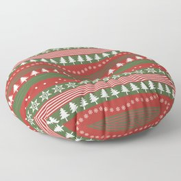 christmass and new year Floor Pillow