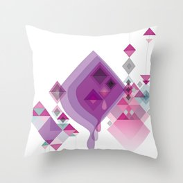 Abstract illustrations Throw Pillow