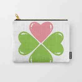 Love makes me lucky Carry-All Pouch