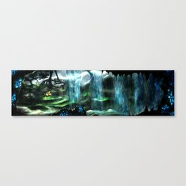 Metroid Metal: Tallon Overworld- Where it All Begins Canvas Print