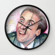Nicolas Cage You Don't Say Geek Meme Nic Cage Wall Clock