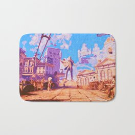 Columbia - The City in the Sky Bath Mat