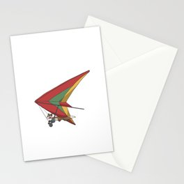 Squirrel in a hang glider Stationery Cards
