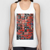 nike Tank Tops featuring Vintage Nike Boxes by Mark B.