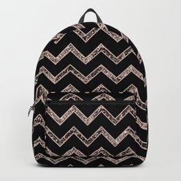 Chevron Glitter Glam #3 #shiny #decor #art #society6 Backpack