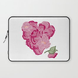 Heart of flowers Laptop Sleeve