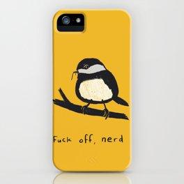 F off, Nerd iPhone Case