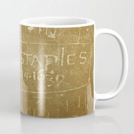 English Graffiti Coffee Mug