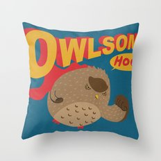 Owlsome Guardian Throw Pillow