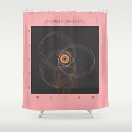 simuleyetion Shower Curtain