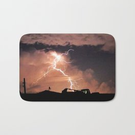 Mister Lightning Bath Mat