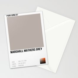 MARSHALL MATHER GREY Stationery Cards