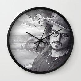 Depp Wall Clock
