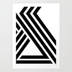 Hello IX Art Print