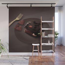 Chocolate Brownie Wall Mural