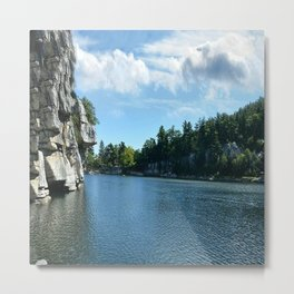 Mohonk Lake Metal Print