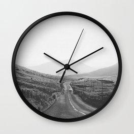 ON THE ROAD III Wall Clock
