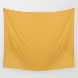 Marigold Yellow in an English Country Garden Wall Tapestry