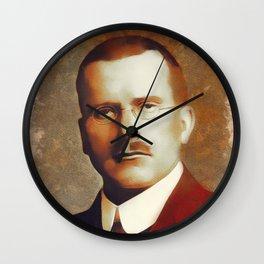 Carl Jung, Psychoanalyst Wall Clock