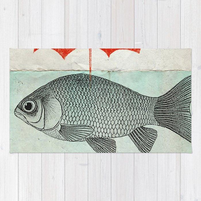 Umbrella Goldfish Rug