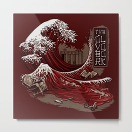THE GREAT RED WAVE Metal Print