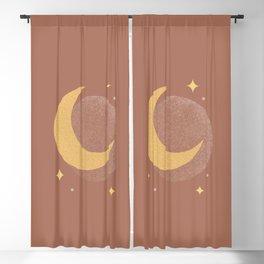 Moon Sparkle Gold - Celestial Blackout Curtain