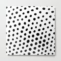 Black and White Dots by davidssociety6