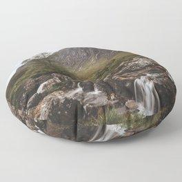 Famous Etive Mor - Landscape and Nature Photography Floor Pillow