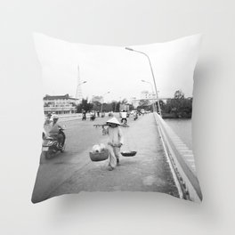 We've All Got To Be Going Somewhere Throw Pillow