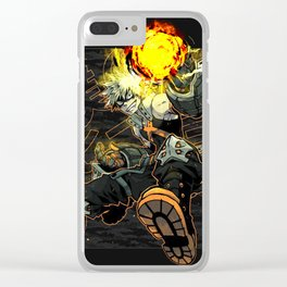 Katsuki Bakugou Great1 Clear iPhone Case