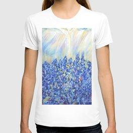 Lavender after the rain, flowers T-shirt