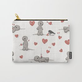 Broken hearted Voodoo Dolls Carry-All Pouch