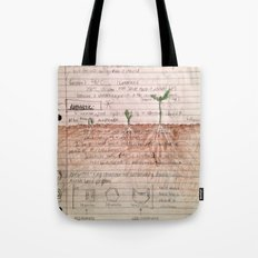 organic matter Tote Bag