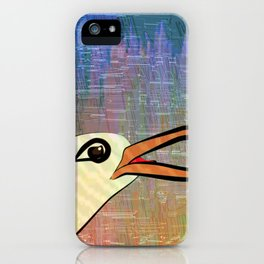 On the Cliffs with Jonathan Livingston Seagull iPhone Case