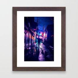 Colorful Seoul Framed Art Print