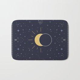 Solar Eclipse 2017 Bath Mat