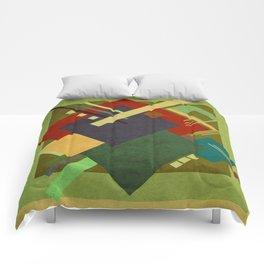 Geometric illustration 31 Comforters