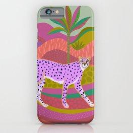Pink Cheetah iPhone Case