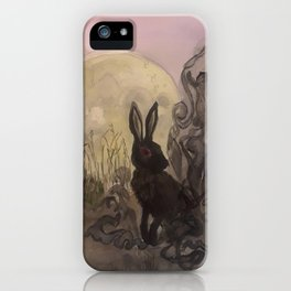 Black Rabbit of Inle iPhone Case