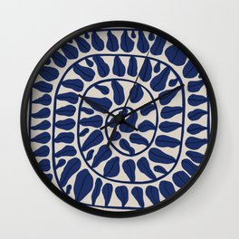 One Hundred-Leaved Plant #5 Wall Clock