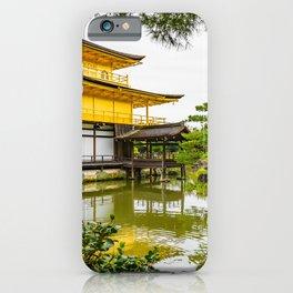Kinkaku-ji, the golden pavilion, Kyoto iPhone Case