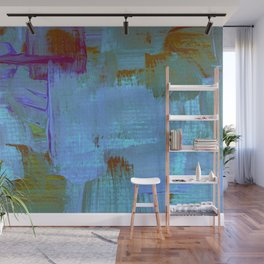 Electric Brushstroke Wall Mural