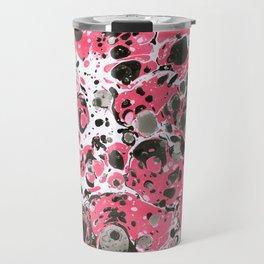 Marbling pink Travel Mug