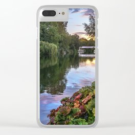 The Thames At Pangbourne Clear iPhone Case