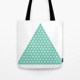 Geometric shape t-shirts & prints: Triangle (Tri x Tri) Multiple colours available... Tote Bag